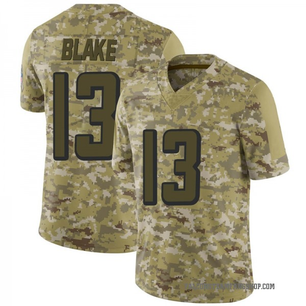 Men's Christian Blake Atlanta Falcons Limited Camo 2018 Salute to Service Jersey
